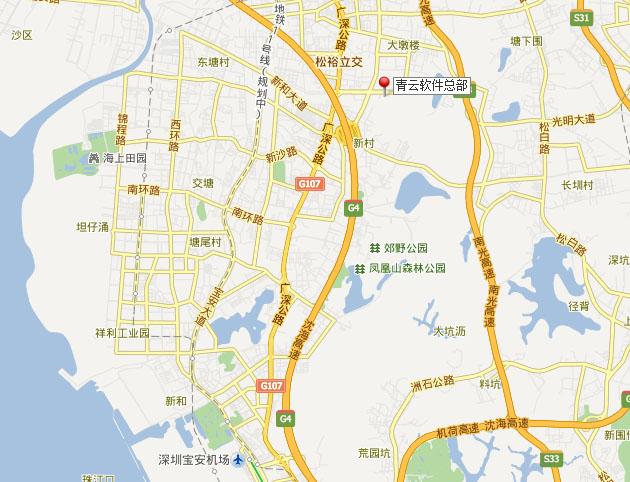 手绘地图软件厂区